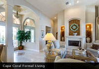 Cape Coral Formal Living Room